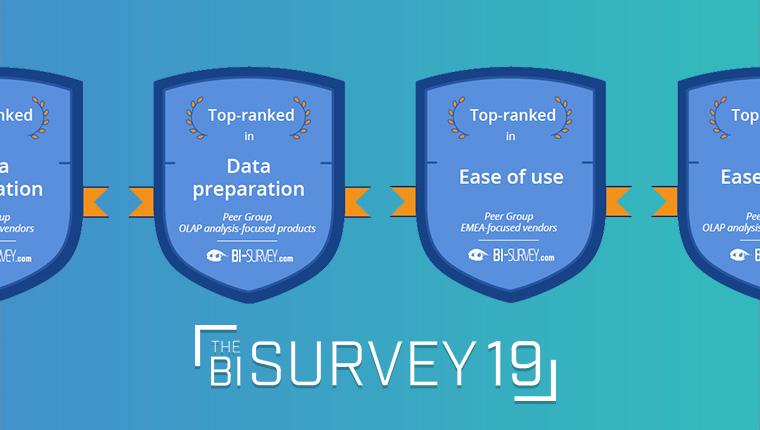 BI Survey 19 : MyReport l'outil de BI N°1 en facilité d'usage